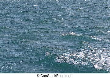 time., jour, mer, vague