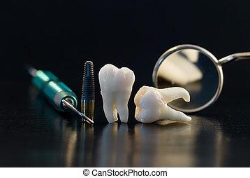 titane, dentaire, implant