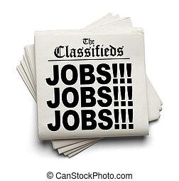 titre, classifieds, travaux