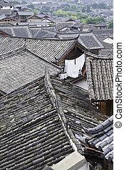 toits, chinois