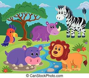 topic, image, 2, animaux