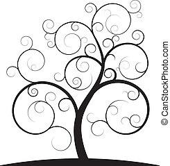 tourbillon, arbre
