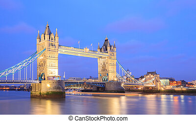 tourdu pont, londres, panorama