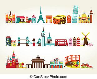 tourisme voyage, emplacements