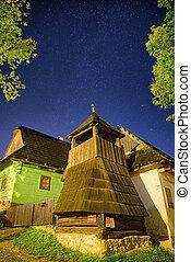 unesco, village, slovaquie, vlkolinec