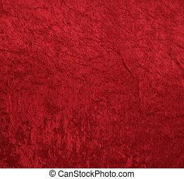 velours, arrière-plan rouge
