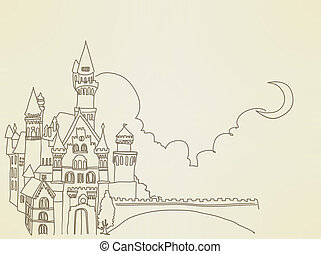 vendange, château