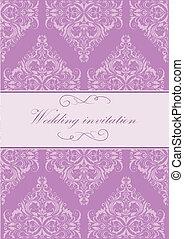 vendange, invitation mariage