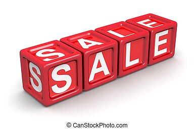 ventes, promotion, concept
