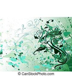 vert, conception