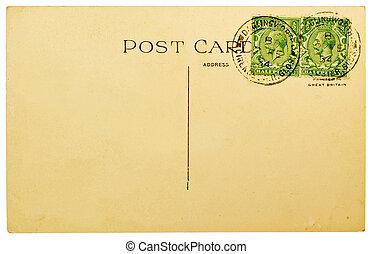 vide, carte postale