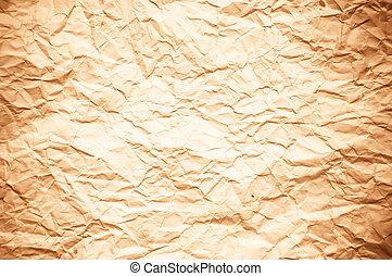 vieux, vendange, texture, papier, fond, ou