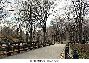 ville, central, 22, -, parc, york, nouveau