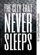 ville, jamais, sommeils
