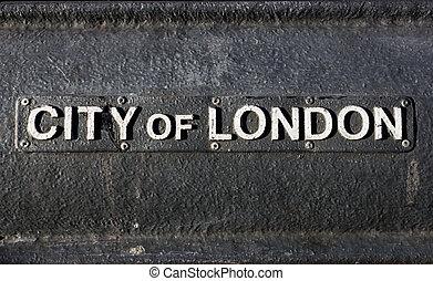 ville, londres, signe