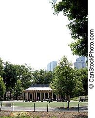 ville parc, central, york, nouveau