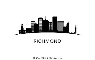 ville richmond, skyline.