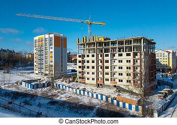 ville, site construction